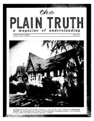 Plain Truth 1957 (Vol XXII No 07) - Herbert W. Armstrong Library ...