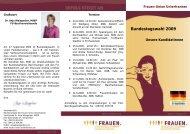 Lernen Sie unsere Kandidatinnen kennen! - Frauen-Union der CSU