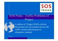 SOS Praha - Traffic Problems of Prague