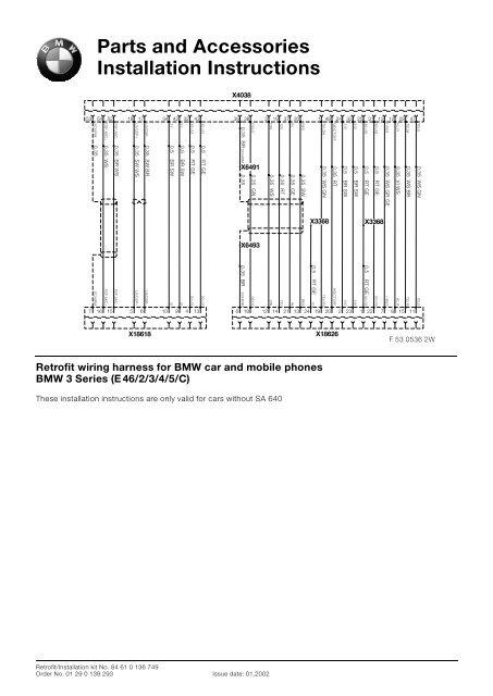 E46 Wiring Diagrams - Wiring Diagrams Folder on