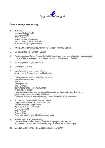 Sanierung Heizungs- und MSR-Anlage, Sonder-KFZ-Gebäude