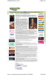 Page 1 of 3 AmadeusOnline.net - News 10/02/2009 http://www ...