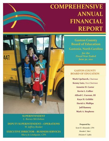 Audit/Comprehensive Annual Financial Report (2011)