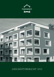 Geschäftsbericht 2012 - Fundamenta Real Estate AG