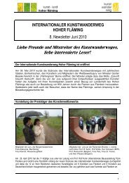 8. newsletter-Juni 2010-Versand-pdf - Naturpark Hoher Fläming