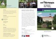 ver Führungen - Naturpark Hoher Fläming