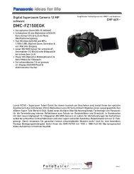 Datenblatt DMC-FZ150EGK - Foto Basler Aarau