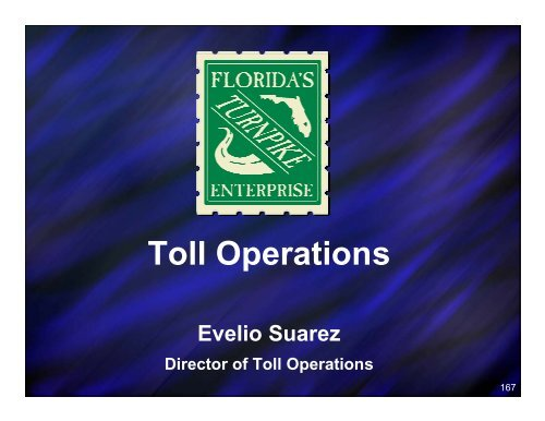 Toll Operations - Florida's Turnpike