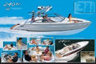240 Bowrider/Sun Sport Specifications - Formula Boats