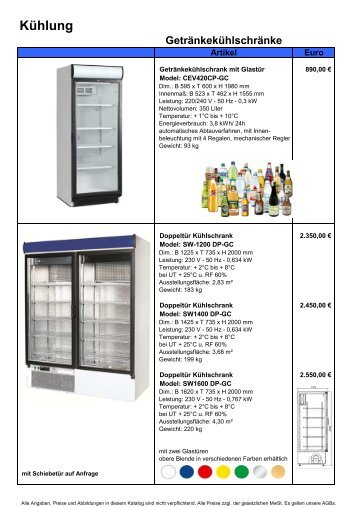 2011.06 Aktueler Katalog.xlsx - Gastro Concept