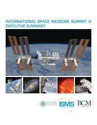 International Space Medicine Summit III Executive Summary, Feb