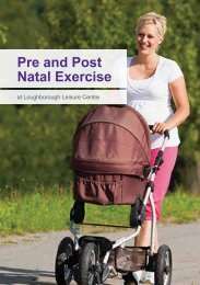 Pre and Post Natal Exercise - Fusion Lifestyle