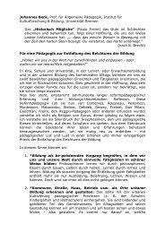 reichtum der bildung - Freinet-Kooperative eV