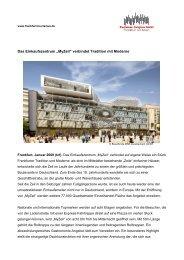 Weitere Informationen - Tourismus und Congress GmbH