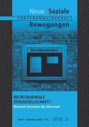Vollversion (6.76 MB) - Forschungsjournal Soziale Bewegungen