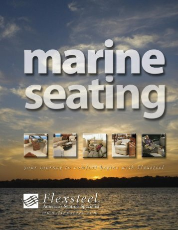 Download the Flexsteel Marine Seating Brochure (PDF)