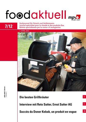 Interview mit Reto Sutter, Ernst Sutter AG Succès du ... - Foodaktuell.ch