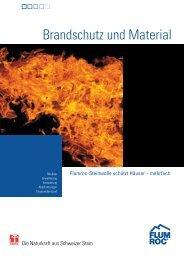 Brandschutz und Material - Flumroc