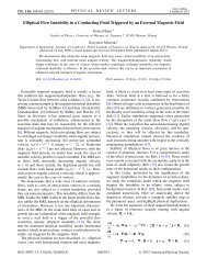 Elliptical Flow Instability in a Conducting Fluid ... - Faculty of Physics