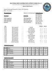 2 Gruppen Spielplan 8 Mann in Straubing - Bayerischer Gehörlosen ...