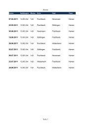 Herren Seite 1 07.05.2011 14.00 Uhr 1x9 Herren ... - Fischbeck Sharks