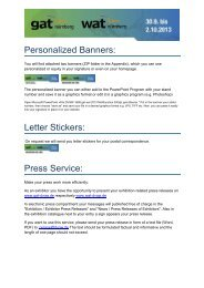 Advertising campaign (PDF, 266 KB) - gat