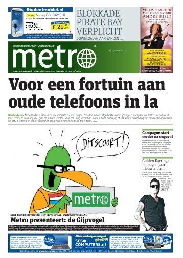 Voor een fortuin aan oude telefoons in la - Metro