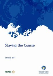 Staying the Course - Advisory Science Council End of Year ...