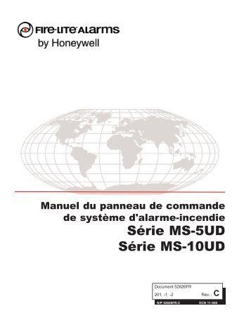 Fire lite ms 5ud Manual