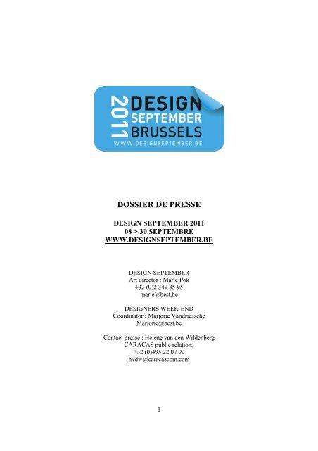 DOSSIER DE PRESSE - Flandes y Bruselas