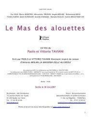 Le Mas des alouettes - Flach Film