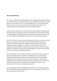 Die Fondation Beyeler