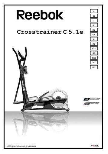 Handbuch Crosstrainer C 5.1e - Reebok Fitness