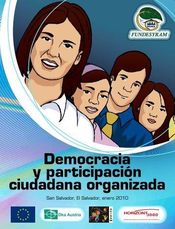 Democracia y participación ciudadana organizada - fundesyram