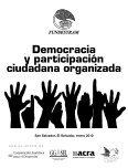 Democracia y participación ciudadana organizada - fundesyram - Page 3