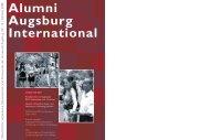 Alumni Augsburg International - Akademisches Auslandsamt ...
