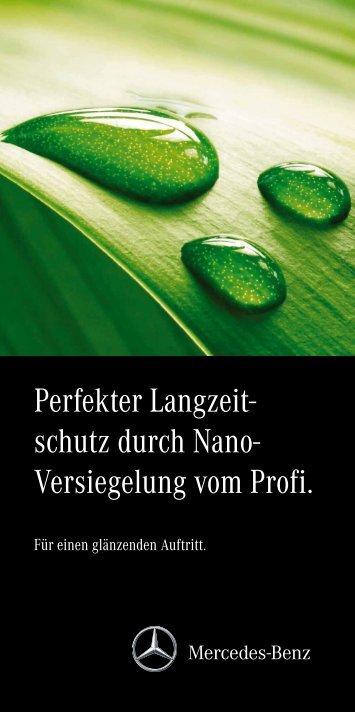 Flyer Nano-Lackversiegelung - Mercedes-Benz Niederlassung ...