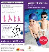 Summer Children's - Fusion Lifestyle