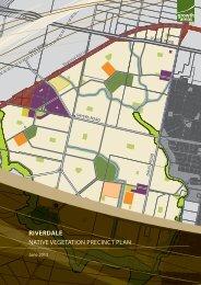 riverdale native vegetation precinct plan - Growth Areas Authority