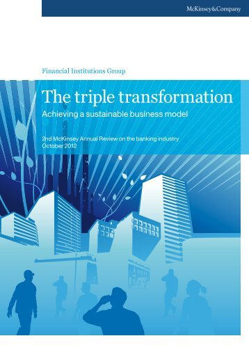 The triple transformation - Financial Risk and Stability Network