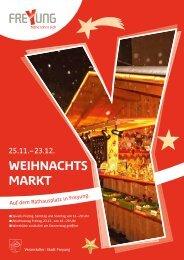 WEIHNACHTS MARKT - Stadt Freyung
