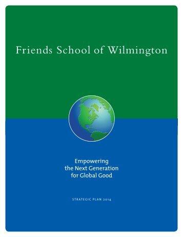 Friends School Strategic Plan - Friends School of Wilmington