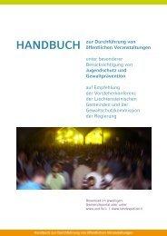 Handbuch zur Durchführung von öffentlichen Veranstaltungen