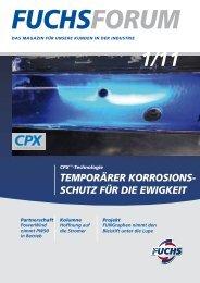 CPX™-TeChnoLoGie - fuchs europe schmierstoffe gmbh