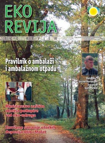Eko revija broj 3 - Fond za zaštitu okoliša i energetsku učinkovitost