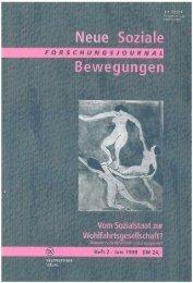 Vollversion (5.48 MB) - Forschungsjournal Soziale Bewegungen