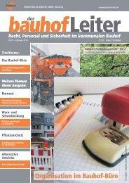 Der bauhofleiter - Ausgabe Februar 2013 - © 2013 by FORUM VERLAG ...