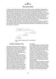 USP chapter on Mass Spectrometry