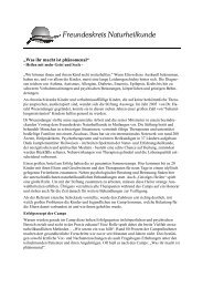 Bericht Stiftung Auswege - Freundeskreis Naturheilkunde Mutlangen