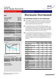 HVB Equity Research 16.März 2005 - Fussball - Club - Management ...